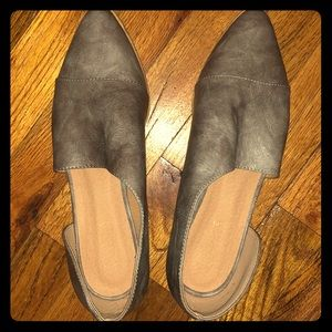 Nordstrom Rack Grey Heels